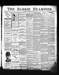 Barrie Examiner, 30 Nov 1905