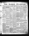 Barrie Examiner, 13 Dec 1906