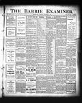 Barrie Examiner, 27 Dec 1906