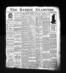Barrie Examiner, 4 Apr 1907