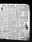 Barrie Examiner, 11 Apr 1907