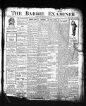 Barrie Examiner, 9 May 1907