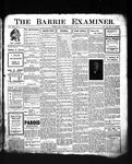 Barrie Examiner, 18 Jul 1907