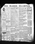 Barrie Examiner, 25 Jul 1907