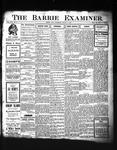 Barrie Examiner, 22 Aug 1907