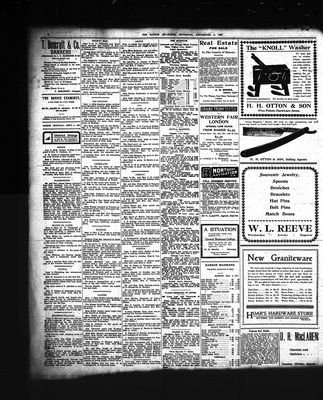 Barrie Examiner, 5 Sep 1907