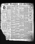 Barrie Examiner, 21 Nov 1907