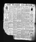 Barrie Examiner, 5 Dec 1907