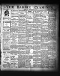 Barrie Examiner, 16 Jan 1908