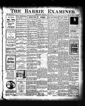 Barrie Examiner, 9 Apr 1908