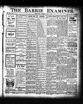 Barrie Examiner, 23 Apr 1908