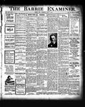 Barrie Examiner, 30 Apr 1908