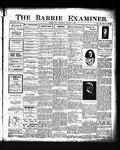 Barrie Examiner, 15 Oct 1908