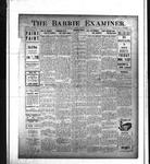 Barrie Examiner, 13 Nov 1913