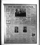 Barrie Examiner, 20 Nov 1913