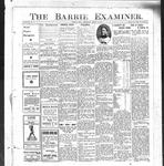 Barrie Examiner, 14 Mar 1912