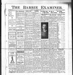 Barrie Examiner, 21 Mar 1912