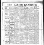 Barrie Examiner, 9 May 1912