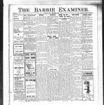 Barrie Examiner, 23 May 1912