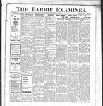 Barrie Examiner, 1 Aug 1912