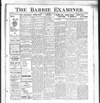Barrie Examiner, 8 Aug 1912