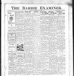 Barrie Examiner, 19 Sep 1912