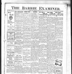 Barrie Examiner, 26 Sep 1912