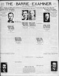 Barrie Examiner, 13 Sep 1934