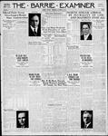 Barrie Examiner, 17 Oct 1935
