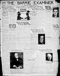 Barrie Examiner, 21 Nov 1935