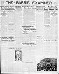 Barrie Examiner, 20 Oct 1938