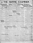 Barrie Examiner, 21 Sep 1939