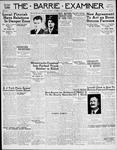 Barrie Examiner, 7 Dec 1939