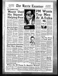 Barrie Examiner, 15 Feb 1962
