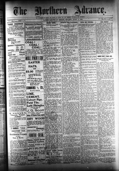 Northern Advance, 2 Apr 1903
