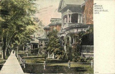 Belleville Souvenier Post Card 1946