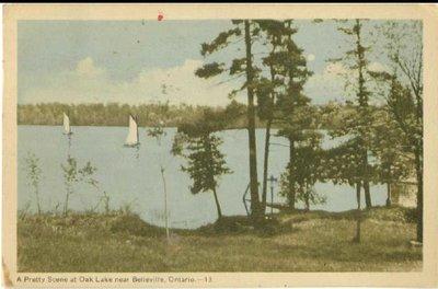 Souvenir Belleville Post Card 1949