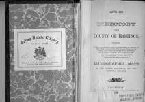 Directory of the County of Hastings 1879-1880