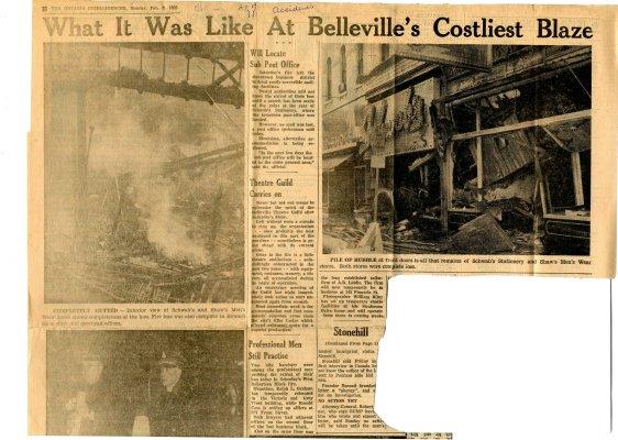 What it was like at Belleville's costliest blaze