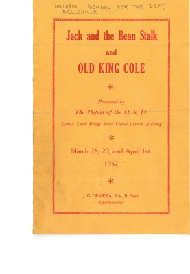 Jack and the Bean Stalk and Old King Cole