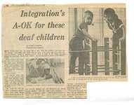 Integration's A-OK for these deaf children