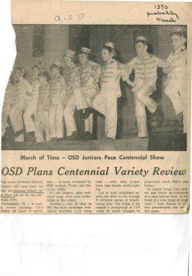 OSD plans centennial variety review