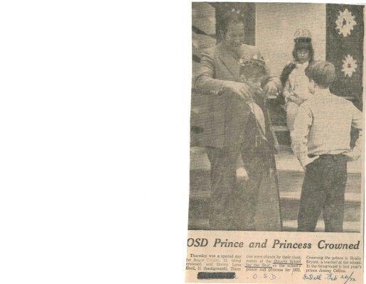 OSD prince and princess crowned