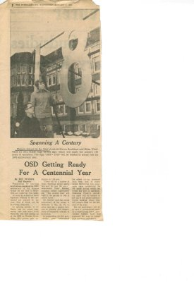 Spanning a century: OSD getting ready for a centennial year