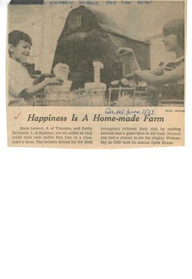 Happiness is a home-made farm