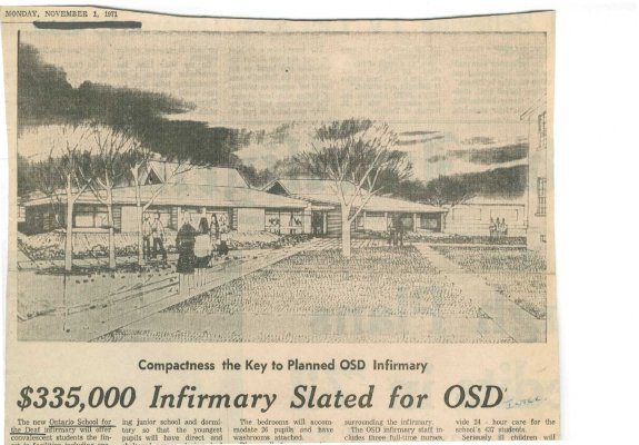 $335,000 Infirmary slated for OSD