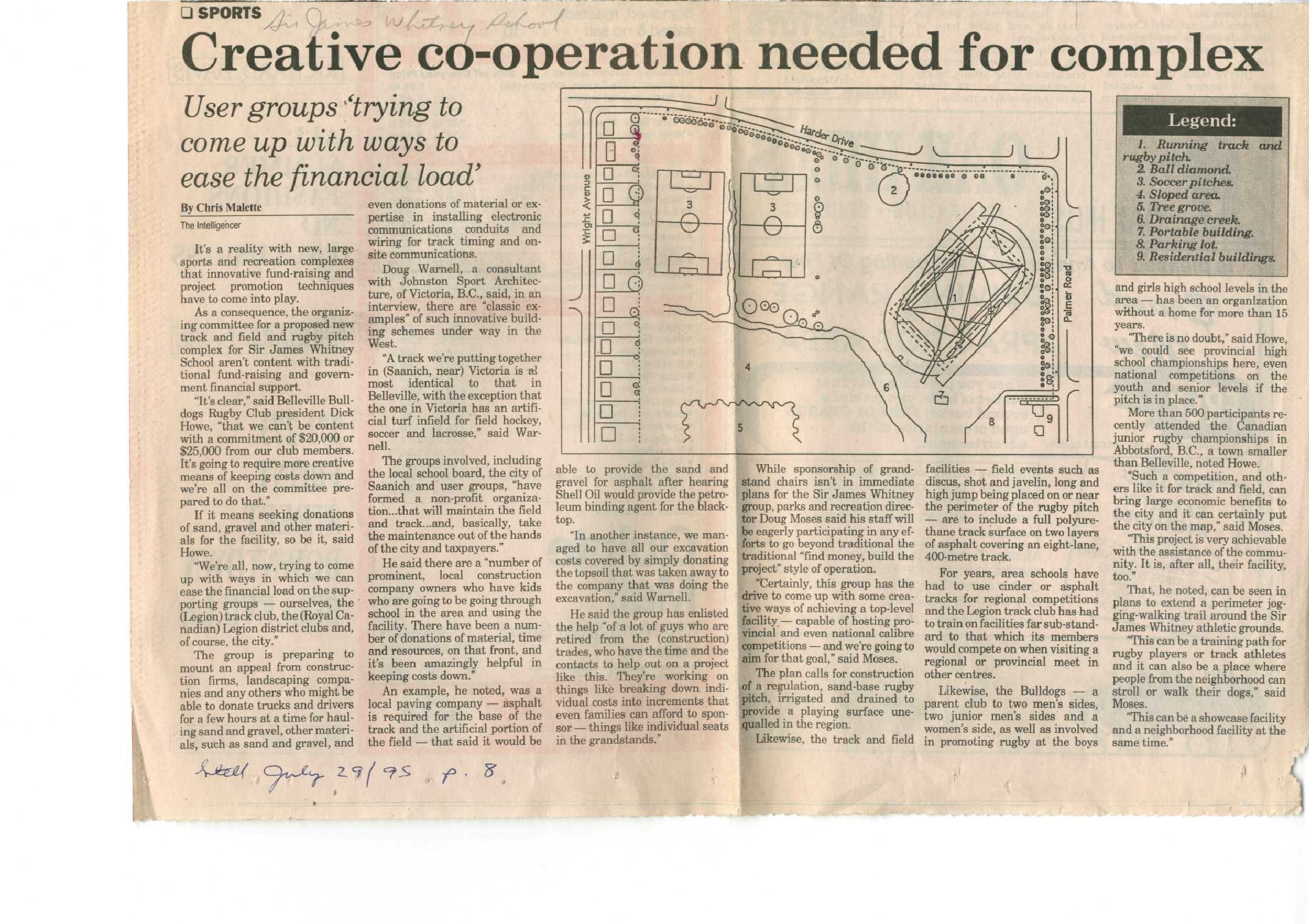 Creative co-operation needed for complex