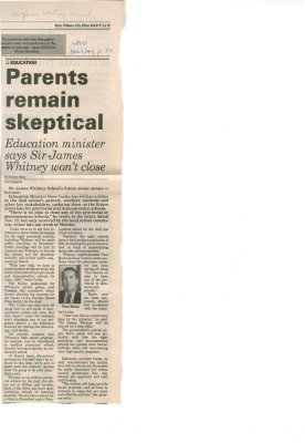 Parents remain skeptical
