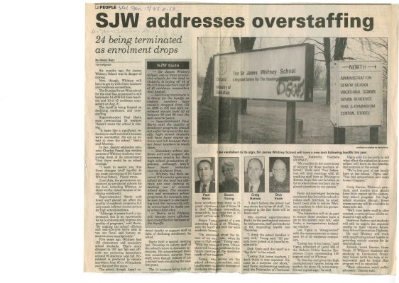 SJW addresses overstaffing