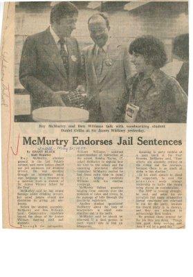 McMurty endorses jail sentences